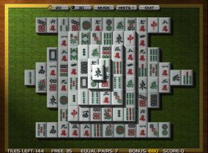 jugar solitario mahjong