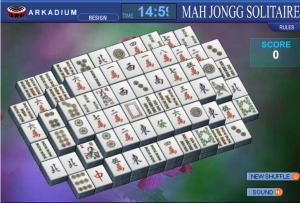 free mahjong titans games