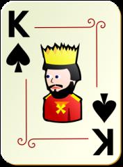 Rei de Espadas Cartoon Menor 60p