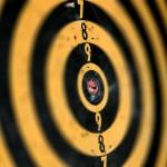 tiro ao alvo com arco e flecha